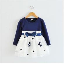 Cotton Flower Baby Dress 1 year