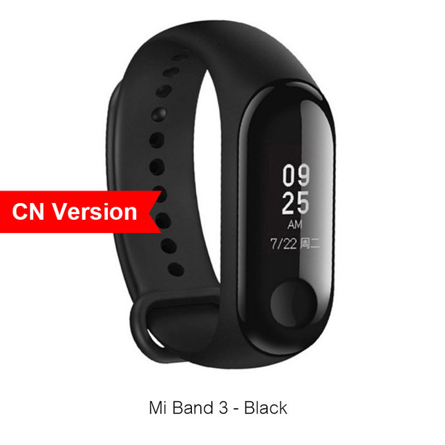 Xiaomi Mi Band 3 Miband Instant Message Caller ID Smart Bracelet Wristband  Waterproof Big OLED Touch Screen Heart Rate Monitor