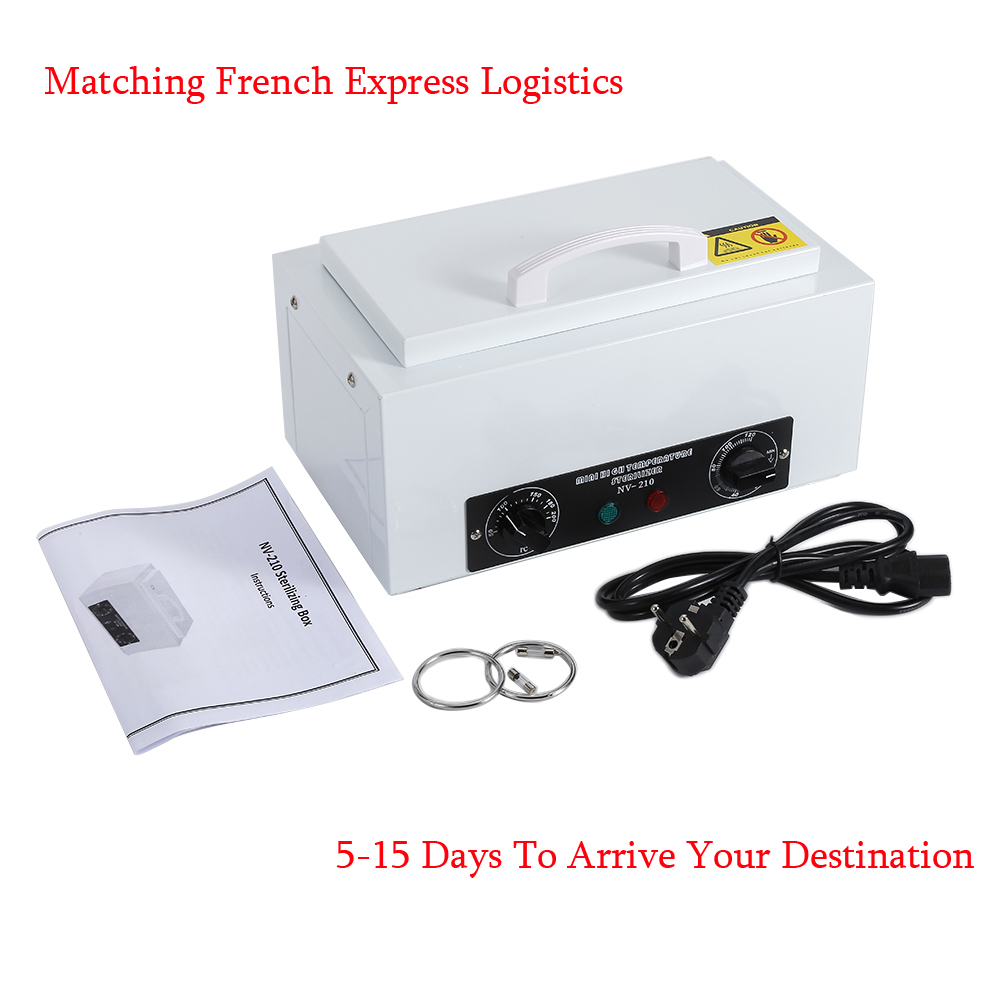 Profession High Temperature Manicure Sterilizer Nail Art Sterilizer with Hot Air Disinfection Cabinet Nail Art Equipment EU Plug portable dental autoclave sterilizer with replaceable tray high temperature sterilizer hot air disinfection with wooden holder