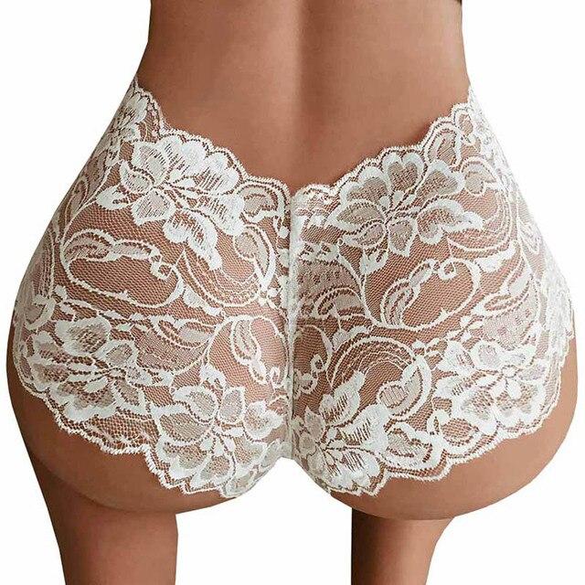 Underwea Sexy Women Lace Panties Brief Bikini Knickers Lingerie Underwear  2019 New Cotton Lace Sexy Black 3e56341db