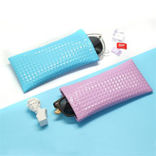 85272be257d Vazrobe PU Leather Sunglasses Cases Waterproof Glasses Bags Solid Simple  Design for Large Eyewear Storage Fashion Wholesale