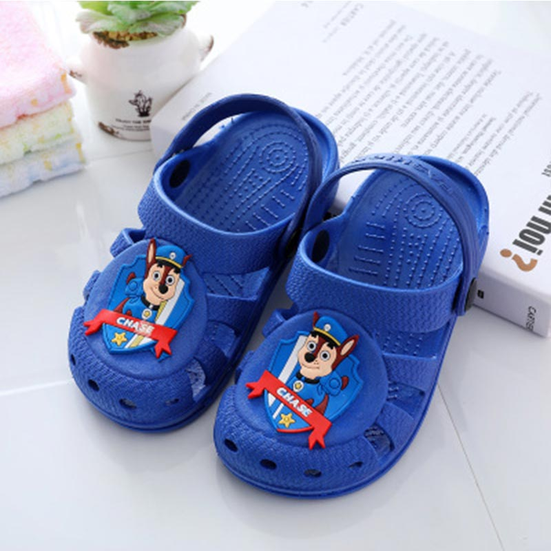 CANDOMOM Children's Boys Sandals Summer Plastic Sport Non-slip  Beach Shoes Children's Ventilation Comfortable Outdoors Sandals