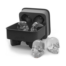 Skull Ice Cream Mold For Bar Party