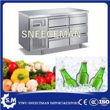 Верстак из нержавеющей стали для холодильника ящика верстака