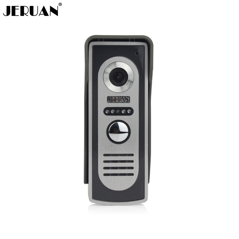 JERUAN Video door phone Outdoor phone doorphone IR Night vision Camera free shiipping jeruan new doorbell intercom doorphone wireless video door phone with memory image station outdoor night vision function