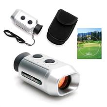 Карманный 7X цифровой Гольф дальномер гольфоскоп прицел с мягкой сумка чехол
