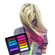 6/12/24/36 Colors Non-toxic Hair Chalk Easy Temporary Hair Color Dye Soft Pastels Chalk Kit Beauty for DIY Hair Care Styling