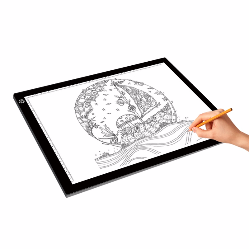 2019 New A3 Portable LED Drawing Board Touch Dimmable Tracing Table Light Pad Box with Clip for 2D Animation Sketching Gadgets2019 New A3 Portable LED Drawing Board Touch Dimmable Tracing Table Light Pad Box with Clip for 2D Animation Sketching Gadgets