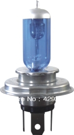 X-treme Vision halogen xenon bulb H4/12342XV+100% headlight bulb lamp 12V 60/55W blue bulb white light vivanco 32211 x treme talk