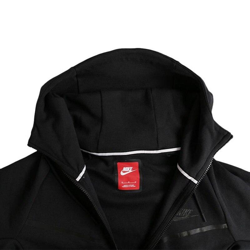 US $100.86 18% OFF|Originele Nieuwe Collectie NIKE M NSW TCH FLC WR heren Jas Hooded Sportkleding in Hardloop Jassen van sport & Entertainment op