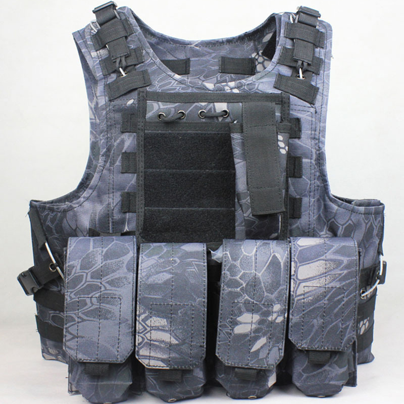 New 9 Color MOLLE Modular Airsoft Tactical Vest Tattici Gilet Tactique GiubbottoTattico Taktische Weste Colete Tatico Militar ultrafire m3 t60 3 mode 910 lumen white led flashlight with strap black 1 x 18650