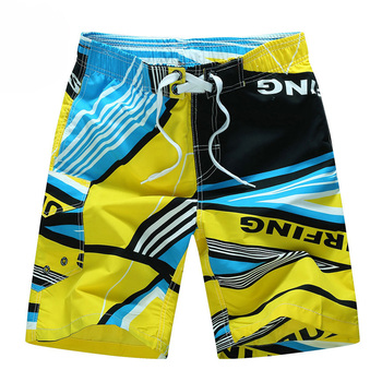 Summer Style 2020 Men Shorts Beach Short Breathable Quick Dry Loose Casual Hawaii Printing Shorts Man Plus Size 6XL 4