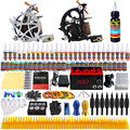 Solong Tattoo Complete Tattoo Kit 2 Pro Machine Guns 40 Inks Power Supply Foot Pedal Needles Grips Tips TK230