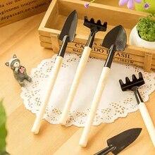 3Pcs Mini Garden Hand Tool Kit Plant Gardening Shovel Spade Rake Trowel Children Intelligence Toys