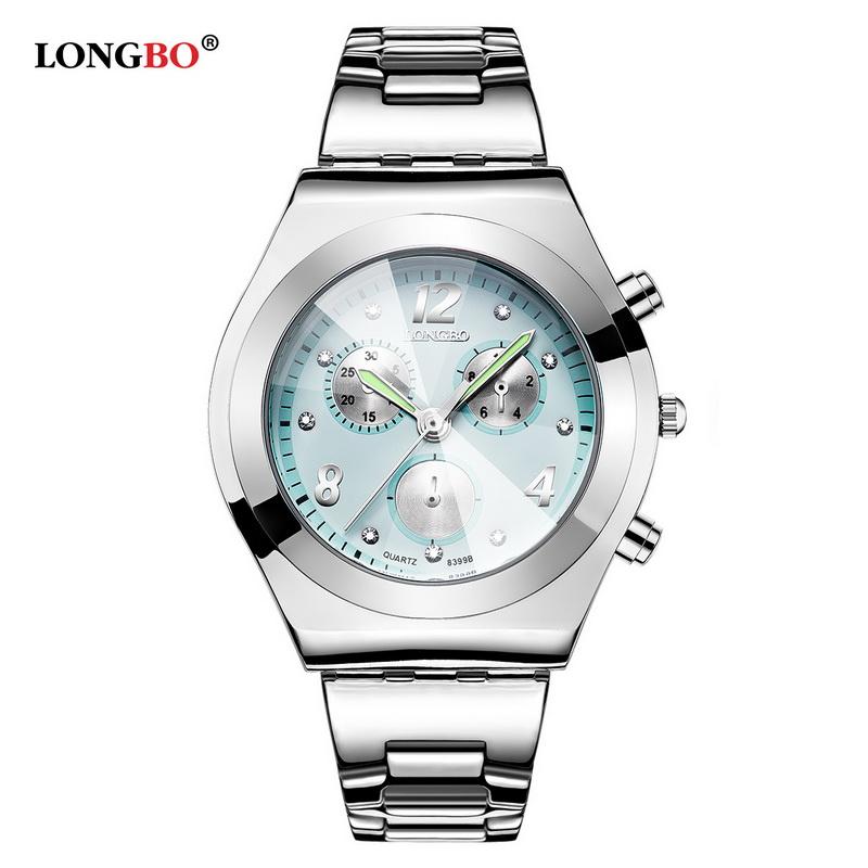 Prix pour 2017 nouveau longbo de luxe marque femmes montre dames étanche bracelet à quartz montre-bracelet relogio feminino montre femme reloj mujer