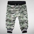 2016 nuevos hombres ocasionales de los pantalones de camuflaje pantalones cortos para hombre pantalones cortos de moda hombres pantalones cortos pantalones de los hombres de los capris más el tamaño 3XL 36 30OFF