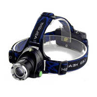 Led Headlight Super Bright Head lamp18650 Battery Flashlight High Power T6 Head Torch LED head lampes frontale For Led Headlight