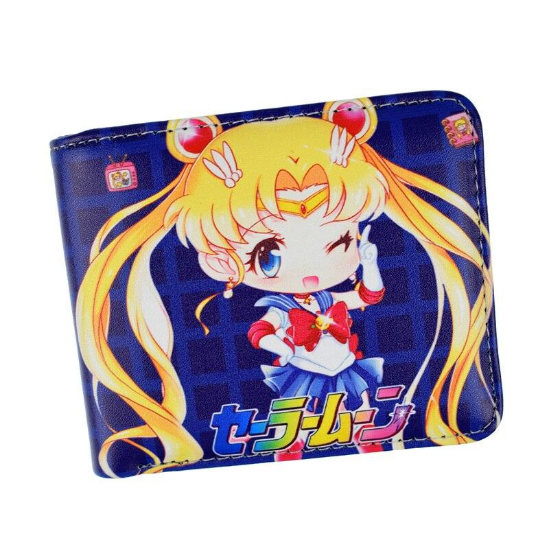 Geldbeutel Gepäck & Taschen Fvip Pu-leder Anime Brieftaschen Sailor Moon/marienkäfer/himouto Umaru Chan/card Captor Sakura Kurzen Geldbörse Mit Tasche