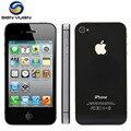 "100% original apple iphone 4s telefone desbloqueado 16 gb/32 gb/64 gb 3.5 ""ips ios 8 Dual Core NFC 8MP WIFI GPS 3G WCDMA Telefone Inteligente Móvel"