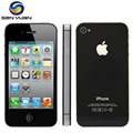 "100% original apple iphone 4s unlocked 16 gb/32 gb/64 gb 3.5 ""ips ios 8 de doble Núcleo de 8MP NFC WIFI GPS 3G WCDMA Teléfono Móvil Inteligente"
