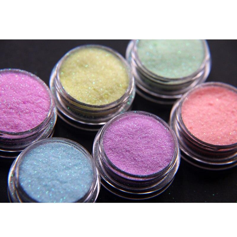 Iridescent Nail Powder Blue: Aliexpress.com : Buy 50 Grams Candy Colors Nail Glitter