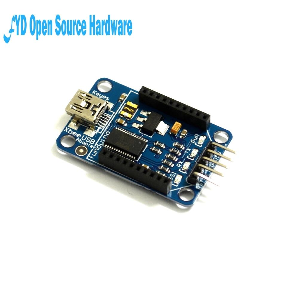 Pro Mini FT232RL FT232 BTBee Bluetooth Bee USB vers Série IO Port Xbee Interface Adaptateur Module pour arduino Nano 3.3 v 5 v Conseil