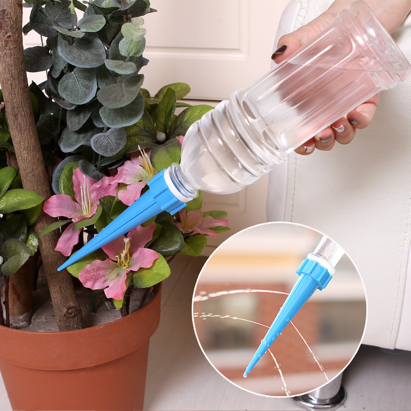 1set DIY Automatic Plant Waterer Accessories Plant Flower Bottle Dripper Sprinkler water nozzle garden tool