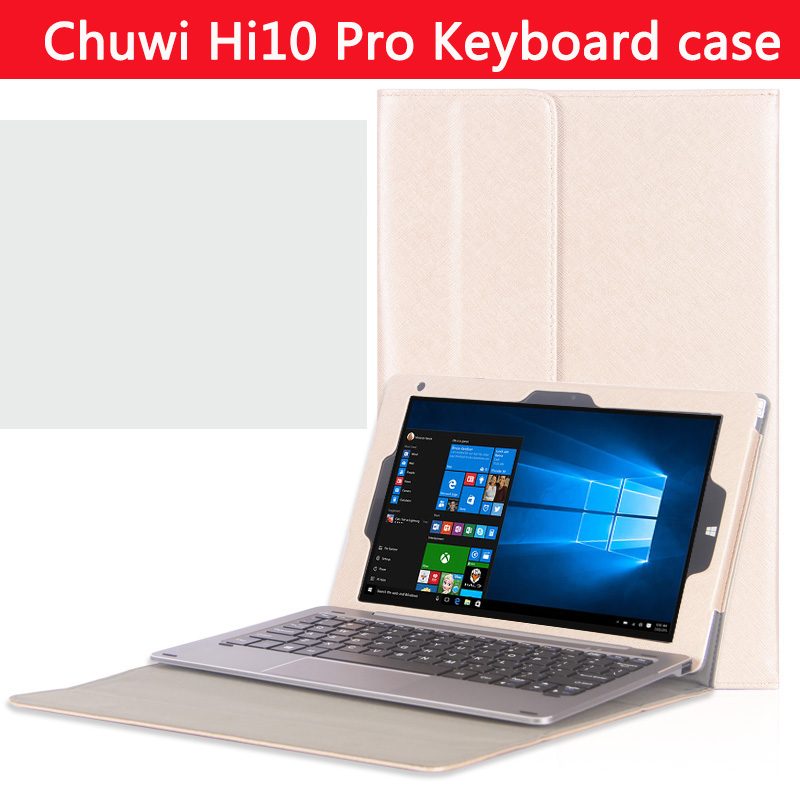 Original High-quality Business  stand keyboard case For CHUWI HiBook Pro / HiBook /Hi10 Pro 10.1 inch Tablet PC