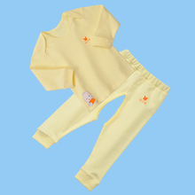 YiErYing Newborn Clothes Long Sleeve Leisure Cartoon Printed 100% Cotton 2Pcs Coat+Pant For Baby Boys Girls Clothing Suits