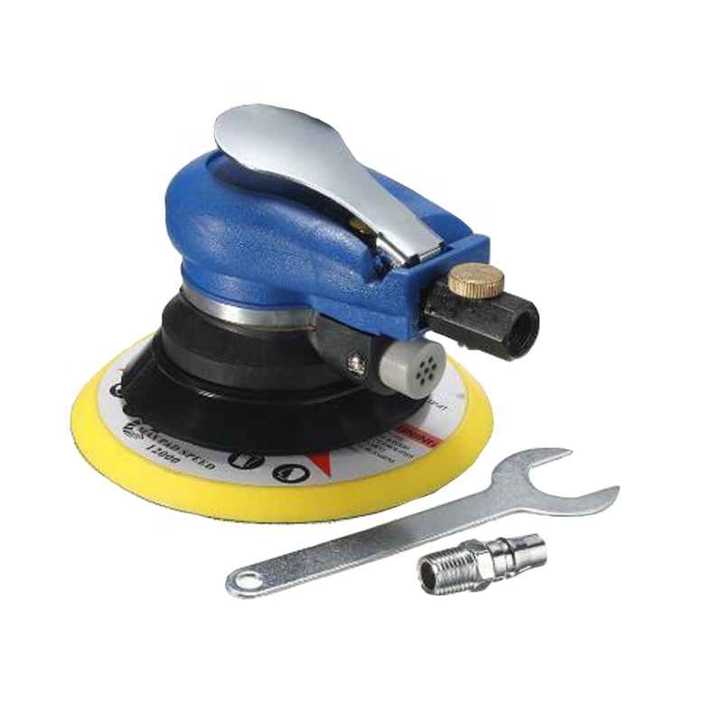 6 Inches Air Sander Pneumatic Polishing Machine 6 Air Polisher Grinder Tool Pneumatic Tools