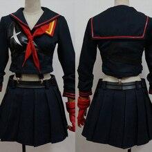 Убить ла Косплей Ryuuko Matoi Косплэй костюм senketsu костюм наряд равномерное Hallween карнавальные костюмы для Для женщин Обувь для девочек