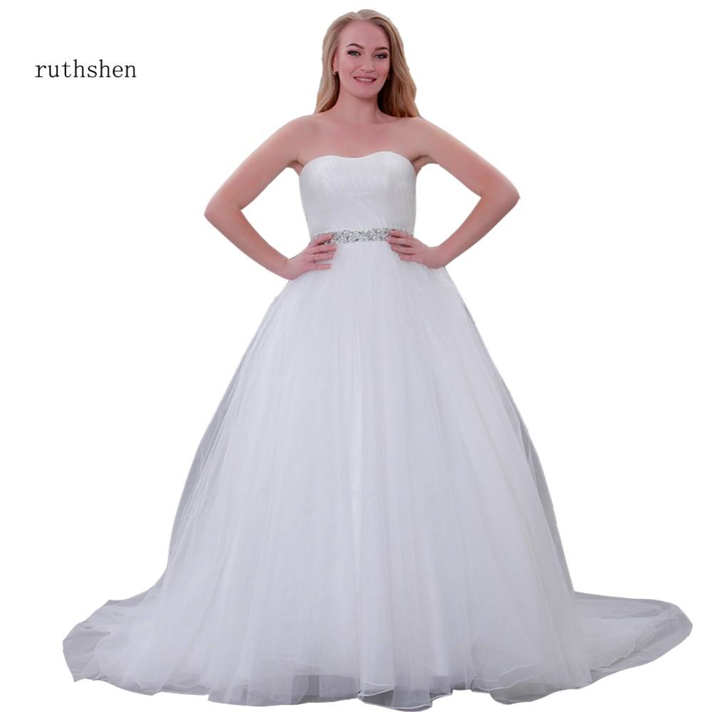 2019 Wedding Ball Gowns: Aliexpress.com : Buy Ruthshen WEDDING DRESS 2019 Ball