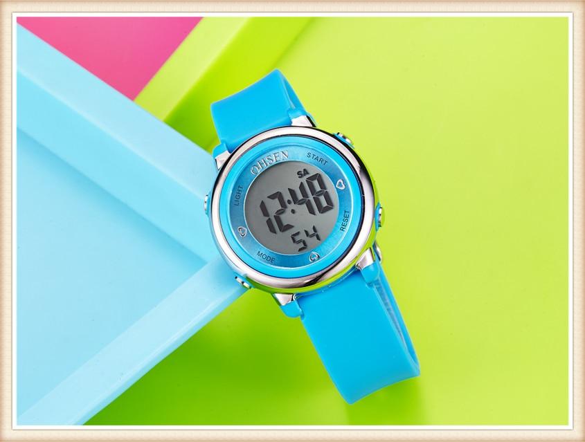 2018 OHSEN Brand Digital LCD Kids Girls Fashion Wristwatch Cute Girl Rubber Strap 50M Waterproof Child Watches Alarm Hand Clocks (21)