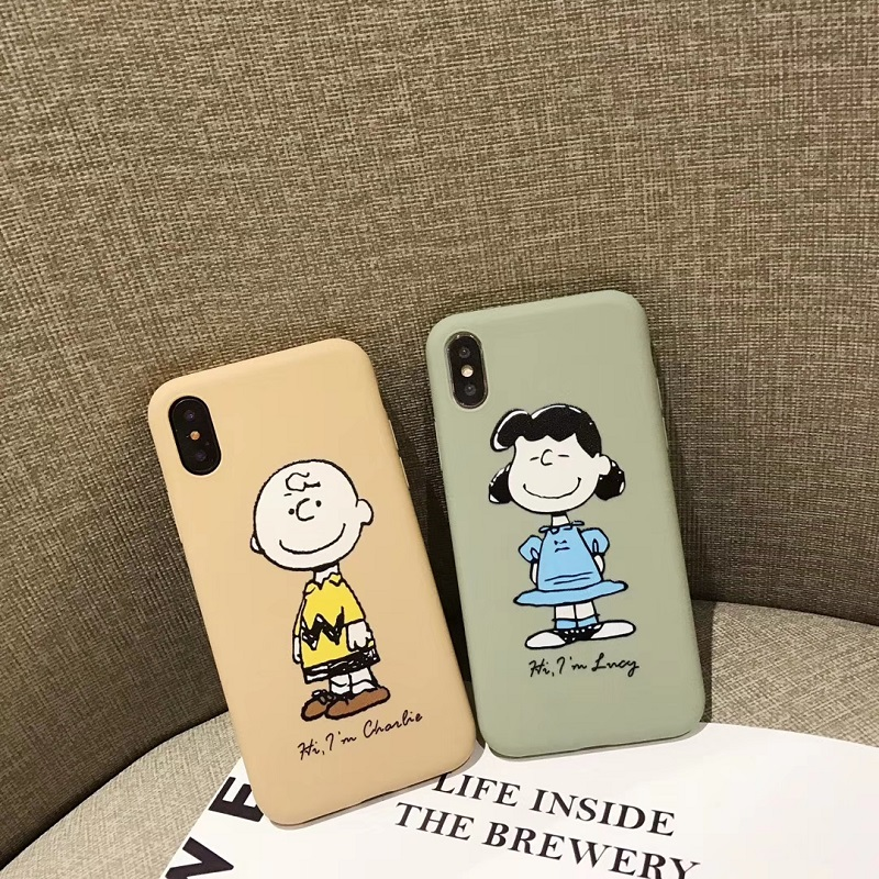 Snoopy And Charlie Brown iphone case