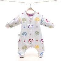 Six layer And Anti kick Baby Sleeping Bag Four Season