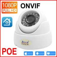 Jienio Poe cámara Ip Cctv vídeo de seguridad 720 P 960 P 1080 P vigilancia Mini IPCam infrarrojo vigilancia del hogar interior red Cam