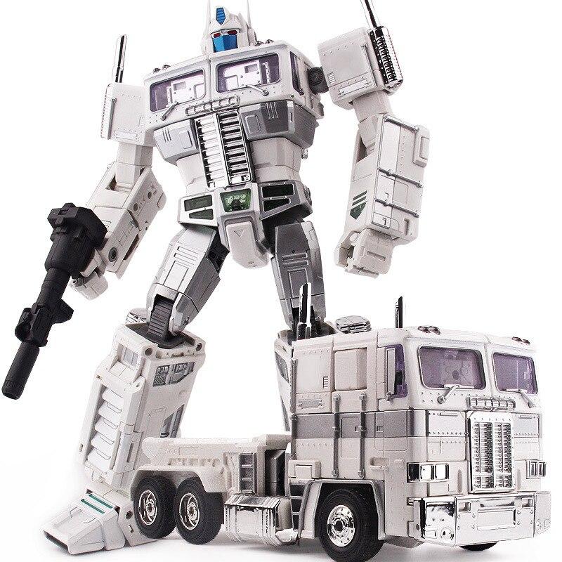 Weijiang Transformation métal alliage Ultra Magnus MPP10W MPP10-White Commander KO MP10U surdimensionné figurine évasion AOE