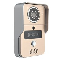 NEW Safurance Wireless Smart Visual Video WIFI Camera Intercom Door Bell Phone Night Security Home Safety