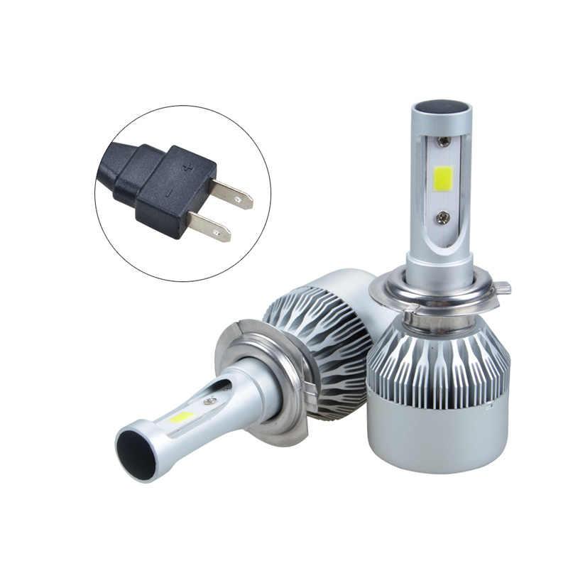 RACBOX 9005 9006 Car LED Headlight Bulb Lamp Globe HB3 HB4 3 Sides LEDs 90W 9000LM 12V 24V Auto Headlamp Lamp 6000K Cool White