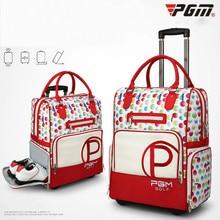 Новая сумка для гольфа PGM, сумка для гольфа, сумка для одежды, Женская нейлоновая сумка, большая емкость