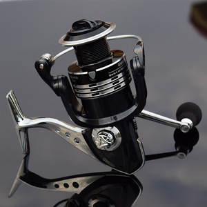 Image 4 - Deshion 13+1BB Black Stainless Steel Spinning Fishing Reel 1000 6000 Series Saltwater Casting Fishing Coil Spinning Reels