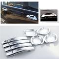 SmRKE для Honda Accord 8th автомобильные Хромированные крышки для дверных чаш наклейки украшение интерьера блёстки брендовые автомобильные аксессу...