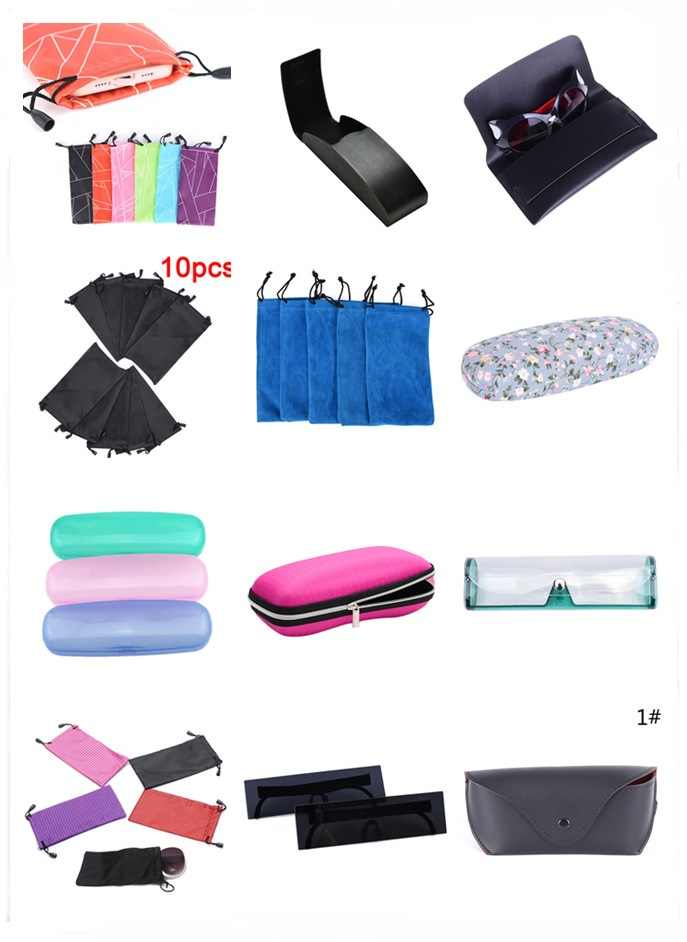 86c49048d48 Hot Glasses Case Box Multi-Functional Glasses Dust Scratch-proof Waterproof  Carry Bag Portable