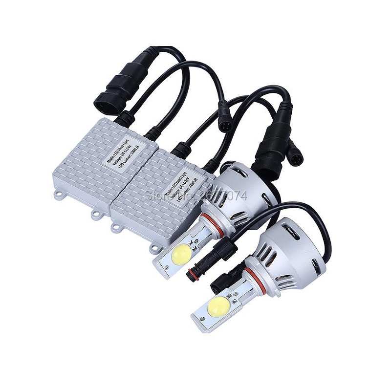 36W DC12 24V White 9005 9006 H7 H8 H11 1COB Car LED Headlamp Fog light led light led lamp light A Pair JTCL042 ly