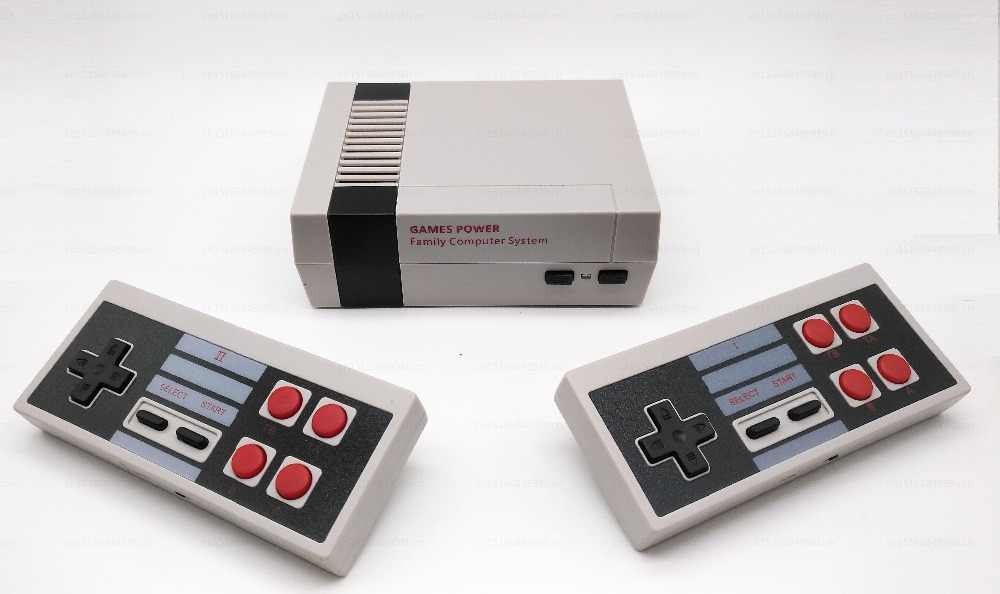 Wireless Retro Mini TV Video Game Console Retro Game Console For Nes 8 Bit  Games with 318 Built-in Games Double Gamepads