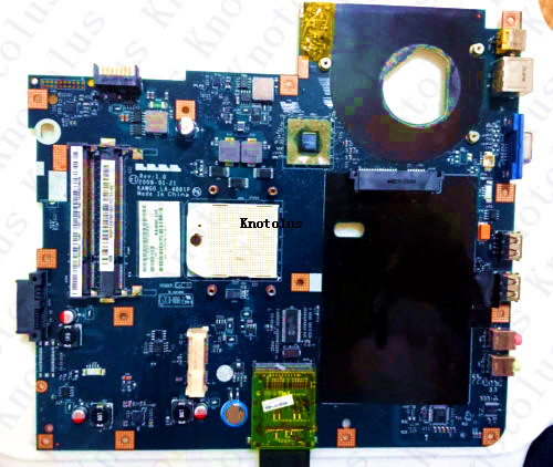 MBPEE02001 KAWG0 LA-4861P for ACER ASPIRE 5516 laptop motherboard MB.PEE02.001 Free Shipping 100% test ok