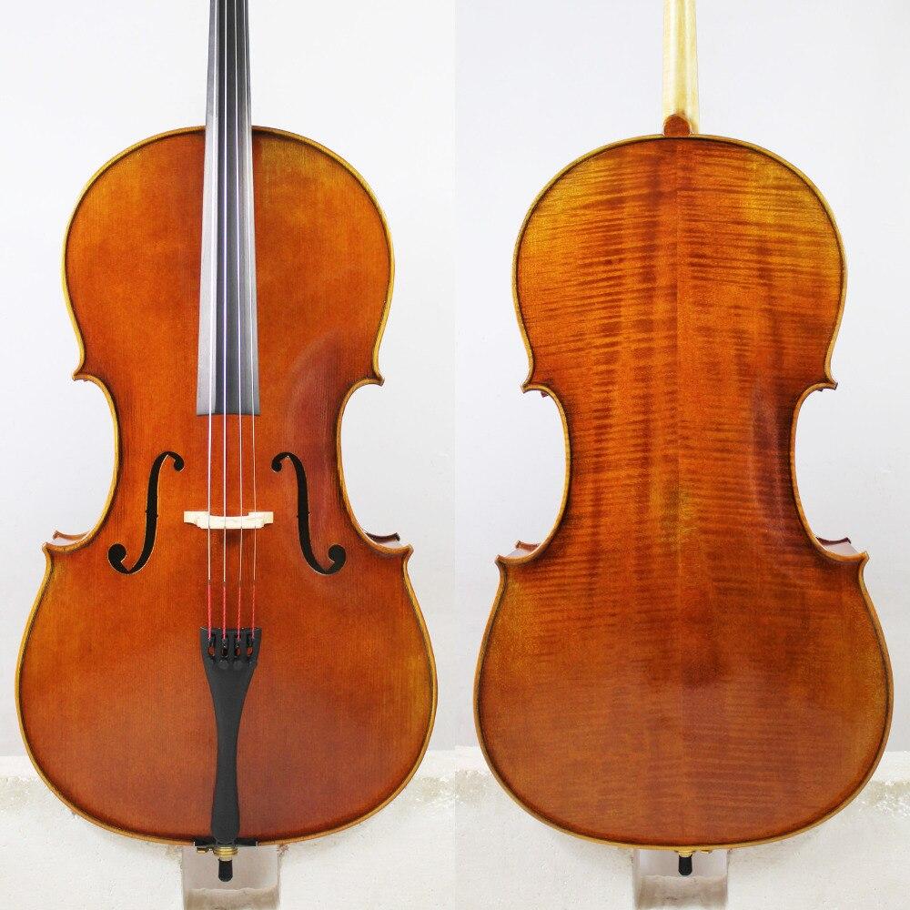 Exemplaire de Pietro Giacomo Rogeri 1710 4/4 violoncelle tout bois européen meilleur modèle! vernis à l'huile Antique!