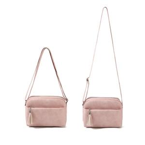 Image 2 - Qianxilu 2019 New Womens Small Shoulder Tassel Bags Messenger Bag Ladies PU Leather Handbag Purse Female Zipper Crossbody Bag