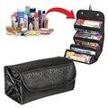 2017 new style nylon waterproof makeup bag fashion cosmetic cases box lady cosmetic bags travel bag toiletries bolsas HZB-007