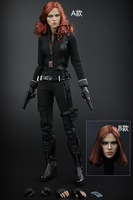 1 6 Scale Collectible Female Figure Doll 12 Action Figure Doll Marvel S The Avengers Black